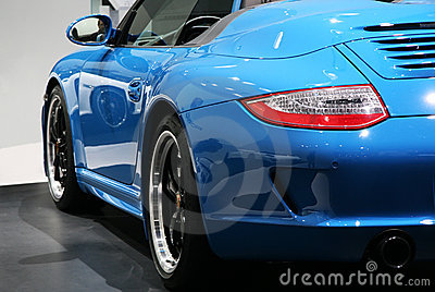 Porsche 911 Speedster at Paris Motor Show Editorial Stock Photo