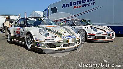 Porsche 911 Supercup Editorial Photography