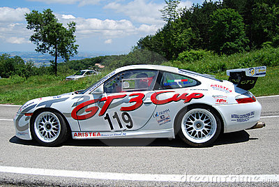 Porsche 996 GT3 Cup Editorial Stock Photo