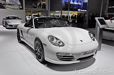 Porsche Boxster Editorial Stock Image