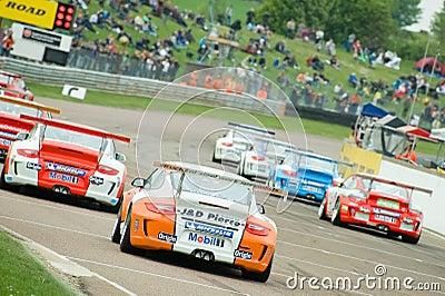 Porsche Carrera Cup Editorial Stock Image