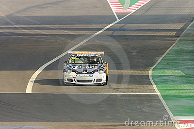 Porsche Carrera Cup Asia Race 2008 Editorial Image