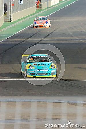 Porsche Carrera Cup Asia Race 2008 Editorial Photography