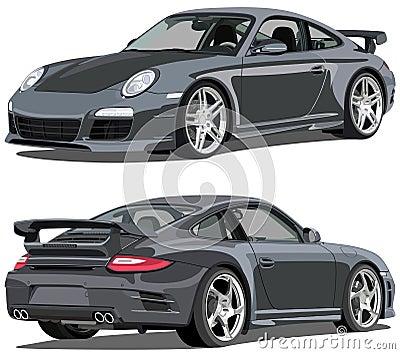 Porsche 911 carrera Editorial Stock Photo