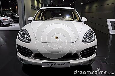 Porsche Cayenne-s-hybrid Editorial Photo