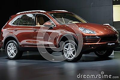 Porsche Cayenne SUV Editorial Stock Image