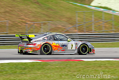 Porsche club racing merdeka endurance race malaysi Editorial Photography