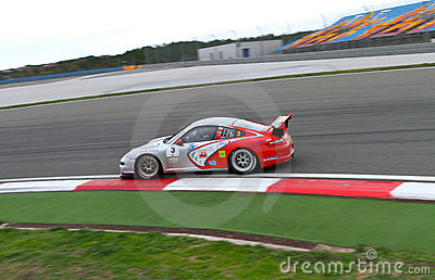 Porsche GT3 Cup Challenge Eastern Europe Editorial Stock Photo