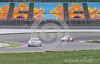 Porsche GT3 Cup Challenge Eastern Europe Editorial Photo