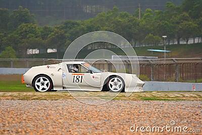 Porsche in Lightweight Sportscar Challenge Editorial Photo