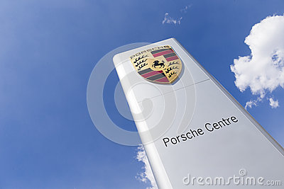 Porsche logo Editorial Photo