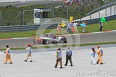Porsche Mobil 1 Supercup Editorial Photography