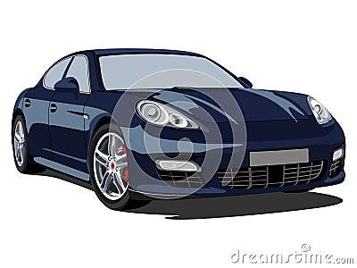Porsche panamera Editorial Stock Photo