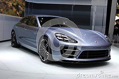 Porsche Panamera Sport Turismo Editorial Photography