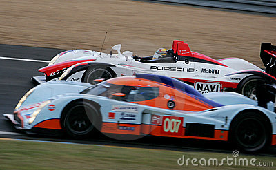 Porsche RS Spyder(Le Mans 24h race) Editorial Stock Photo