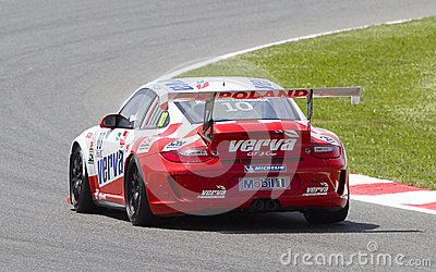 Porsche Supercup Editorial Photography