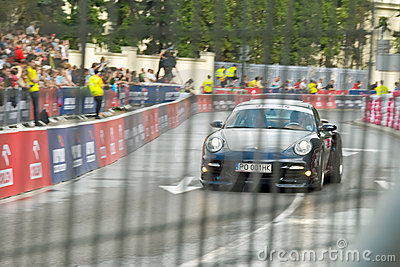 Porshe 911 Carrera at Verva Street Racing 2011 Editorial Photo