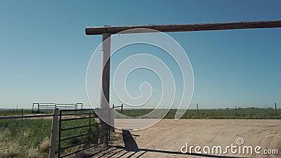 Portão agrícola vídeos de arquivo