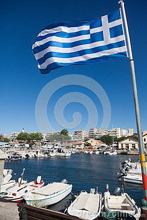 Port of Alexandroupolis - Greece Editorial Stock Photo
