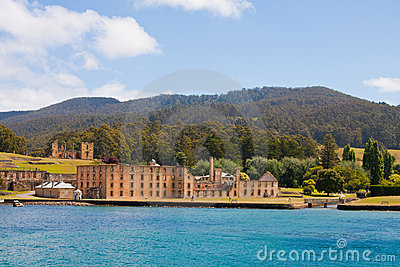 Port Arthur, historic prison in Tasmania
