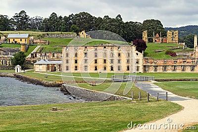 Port Arthur historic prison in Tasmania
