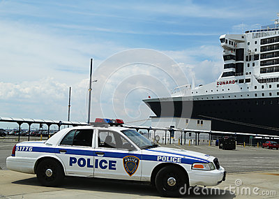 Port Authority Police New York New Jersey providin Editorial Stock Image