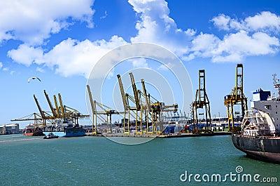 Port of Barcelona Spain