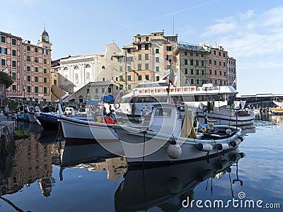 port of Camogli, Italy