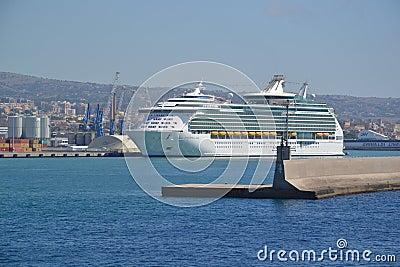 Port of Civitavecchia - Italy Editorial Stock Photo