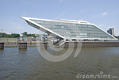 Port de Hambourg de quartier des docks, Allemagne