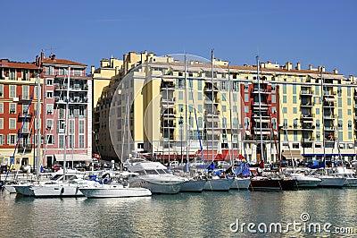 Port de Nice in France