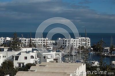 Port El Kantaoui in Tunisia