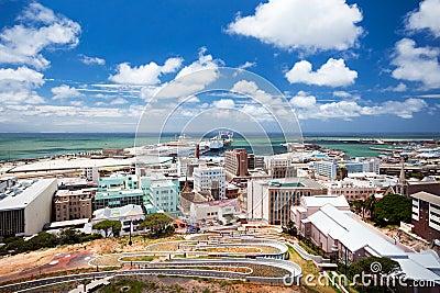 Port elizabeth cityscape