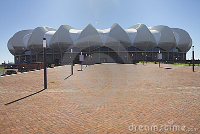 Port Elizabeth s stadium Football World Cup Editorial Image