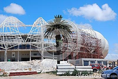Port Elizabeth stadium - soccer world cup 2010 Editorial Photo