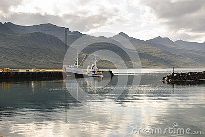Port in Iceland