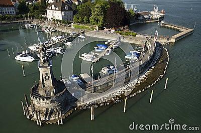 Port Lindau Editorial Photo