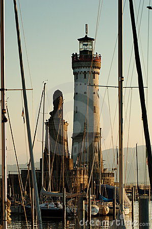 Port Lindau lighthouse
