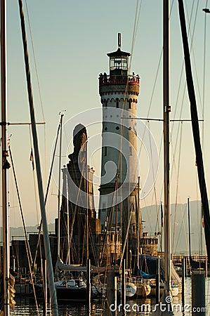 Port Lindau lighthouse