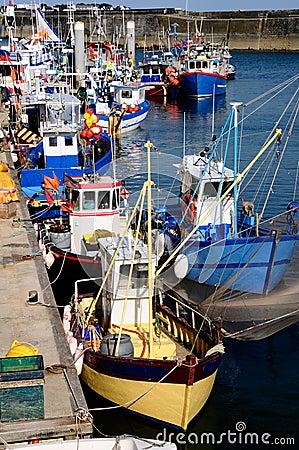 Port Maria at Quiberon in France