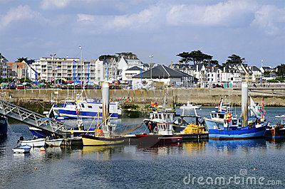 Port Maria at Quiberon in France