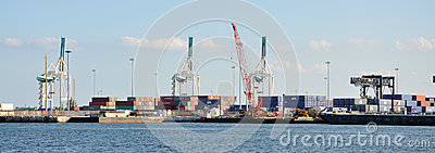 Port of Miami Editorial Image