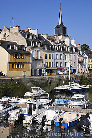 Free Port Of Le Palais At Belle Ile In France Stock Image - 15497851