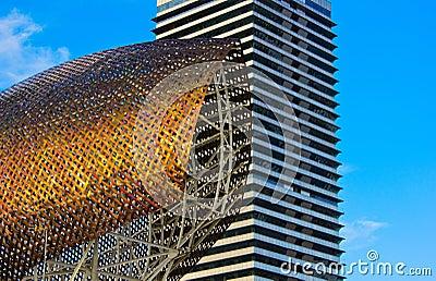 Port Olympic , Barcelona, Spain
