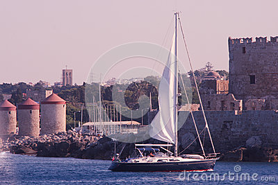 Port of Rhodes Town