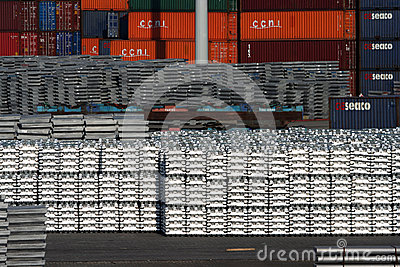 Port of Rotterdam Editorial Photo