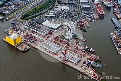 Port of Rotterdam Editorial Photography