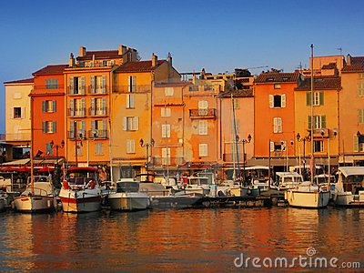 Port in Saint-Tropez