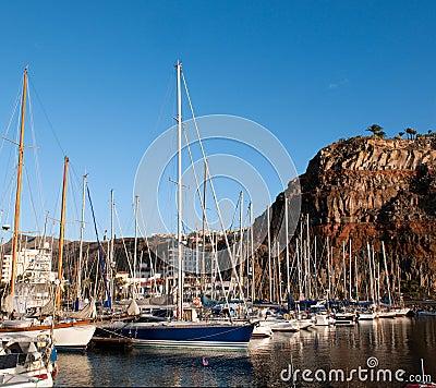 Port of San Sebastian Editorial Photo