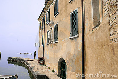 The port of San Vigilio